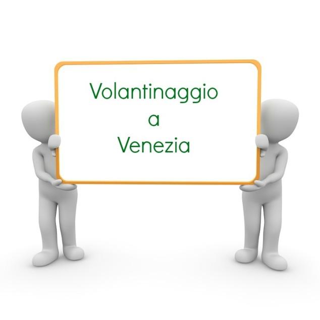 Il Volantinaggio a Venezia