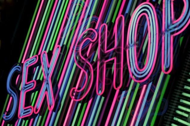 insegna sexy shop